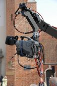 Camera On A Boom Arm