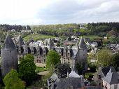 View of Josselin Chateau