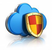 Wolke computing und Storage Security-Konzept
