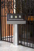 Doorbells of an Apartment Building