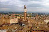 Piazza Del Campo, Sienna, Tuscany, Italy