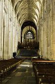 Die Kathedrale von Winchester, Winchester, England