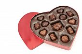 Heart Shaped Valentines Box With Treats