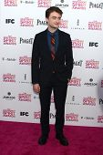 LOS ANGELES - FEB 23:  Daniel Radcliffe attends the 2013 Film Independent Spirit Awards at the Tent