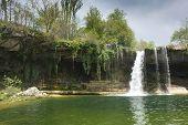Waterfall Of Pedrosa De Tobalina, Burgos, Castilla Y Leon, Spain