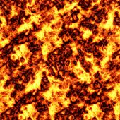 Seamless Tile Pattern Of Blazing Hot Lava