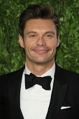 WEST HOLLYWOOD, CA - FEB 24: Ryan Seacrest at the Vanity Fair Oscar Party at Sunset Tower on Februar