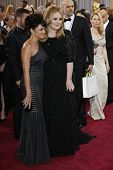 LOS ANGELES, CA - FEB 24: Norah Jones, Adele at the 85th Annual Academy Awards on February 24, 2013