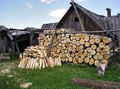Firewood At The Homestead
