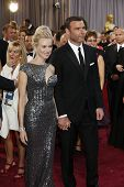 LOS ANGELES, CA - FEB 24: Naomi Watts, Liev Schreiber at the 85th Annual Academy Awards on February