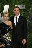 WEST HOLLYWOOD, CA - FEB 24: Naomi Watts, Liev Schreiber at the Vanity Fair Oscar Party at Sunset To