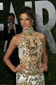 WEST HOLLYWOOD, CA - FEB 24: Alessandra Ambrosio at the Vanity Fair Oscar Party at Sunset Tower on F