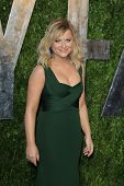 WEST HOLLYWOOD, CA - FEB 24: Amy Poehler at the Vanity Fair Oscar Party at Sunset Tower on February
