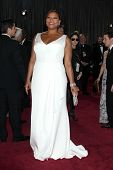 LOS ANGELES - FEB 24:  Queen Latifah arrives at the 85th Academy Awards presenting the Oscars at the