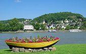 Linz am Rhein,Rhine River,Germany