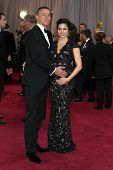 LOS ANGELES - FEB 24:  Channing Tatum, Jenna Dewan-Tatum arrive at the 85th Academy Awards presentin
