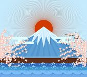 Fujiyama Japan Mountain