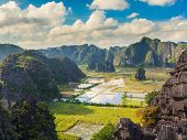 Tam coc national park. Vietnam