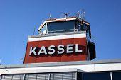 Tower Of Airport Kassel, Germany