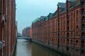 Speicherstadt in Hamburg, Germany