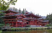 Byodo-In Temple at the Valley of the Temples (Oahu, Hawaii)