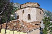 Old Mosque In Castle Of Kruja is a small Bektashi temple called The Dollma Teqe