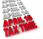 Tax Time April 15Th