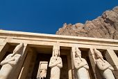 africa. egypt, west thebes, hatshepsut temple