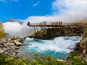 Stigfossen Waterfall And Viewpoint - Norway