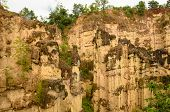 Sandstone Cliffs At Kad Muang Phee,thailand