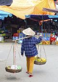 Typical Street Vendor In Hoi An