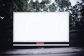 Large Blank Billboard