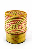 The Delicate Basketry In Thai.