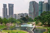 Klcc Park In Kuala Lumpur, Malaysia