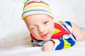 Funny Newborn Baby