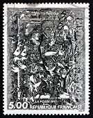 Postage Stamp France 1991 Volte Faccia, By Francois Rouan