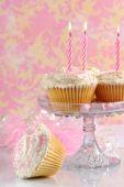 Постер, плакат: Розовый день рождения торты