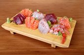 Sashimi On Tray