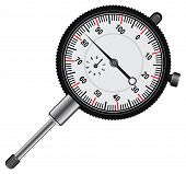 foto of meter stick  - Easy to read Dial indicator - JPG
