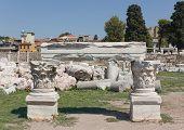Agora Ruins Under Restoration