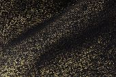 golden fabric texture background