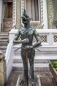 Nok Tantima Bird Statue in Grand Palace, Bangkok