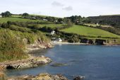 View of Talland Bay, Cornwall