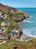 St Agnes North Cornwall England UK
