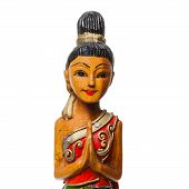Traditional Thai figurine