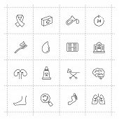 Medicine & Heath Care icons