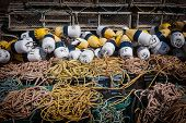 picture of lobster trap  - Floats - JPG