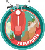 Scooter Emblem