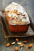 Almond Cake With Orange Zest.
