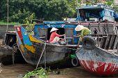 Laundry In Mekong Delta, Vietnam